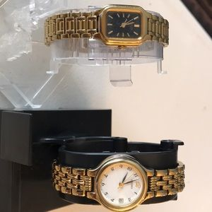 Two Seiko Ladies Watches On Working Condition